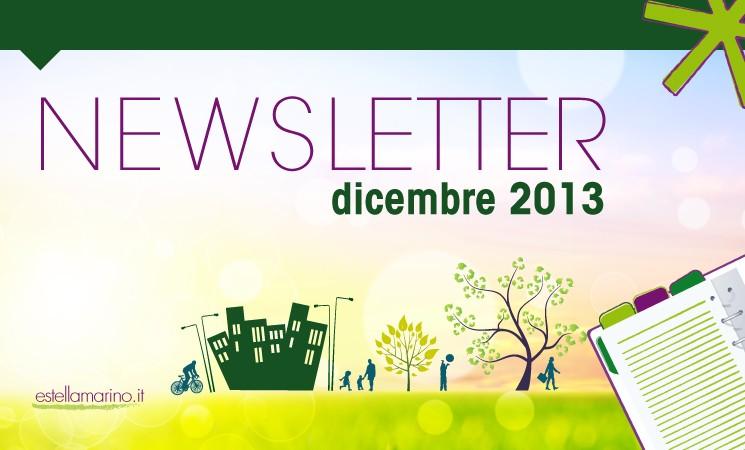 Newsletter di Dicembre 2013