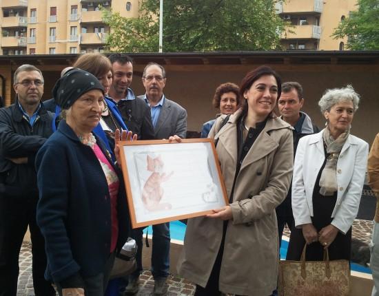 Inaugurazione Oasi Felina di Porta Portese