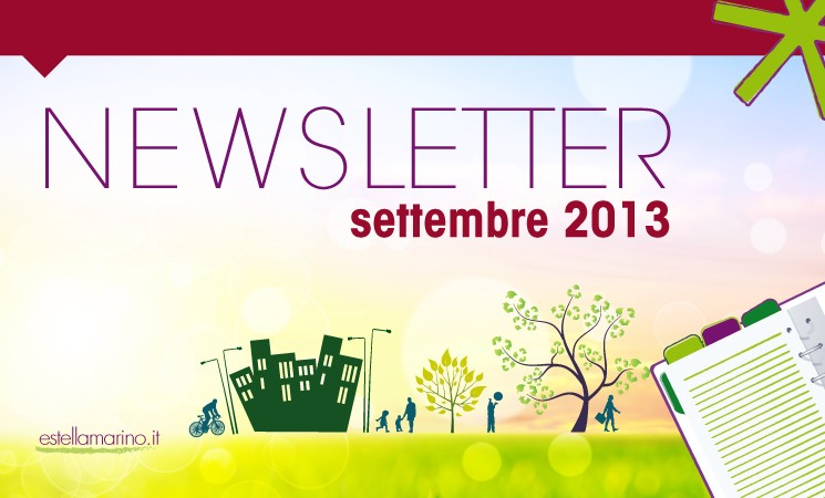 Newsletter di Settembre 2013