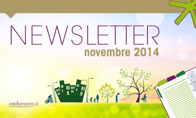 Newsletter di Novembre 2014