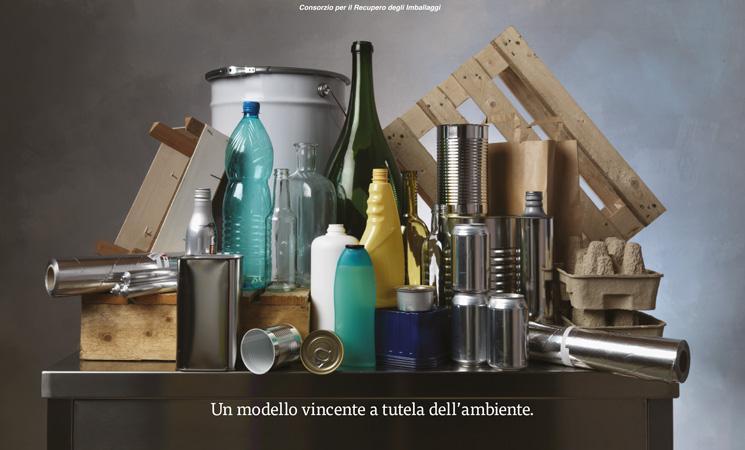 Roma ricicla più imballaggi di tutti