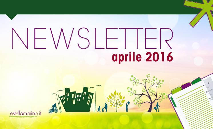 Newsletter di Aprile 2016