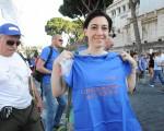 Arriva a Roma la Lunga marcia per L'Aquila