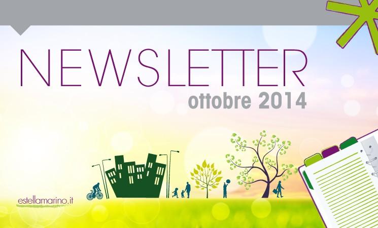 Newsletter di Ottobre 2014