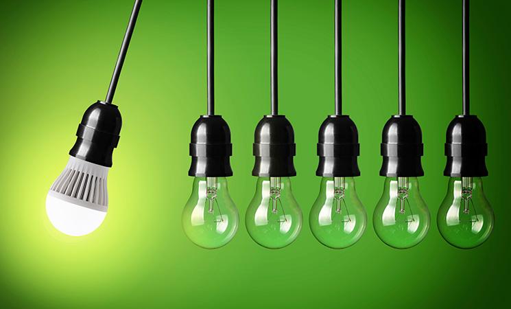 Riciclo delle lampade esauste? #AROMASIPUO