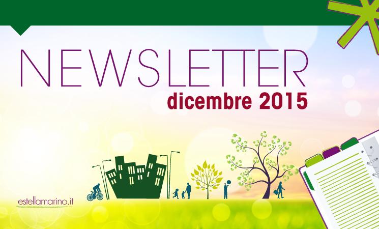 Newsletter di Dicembre 2015