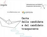 Carta della candidata e del candidato trasparente